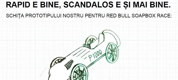 2 echipe din județul Maramureș o vor lua la vale pe 3 septembrie, la Red Bull Soapbox Race din Cluj-Napoca