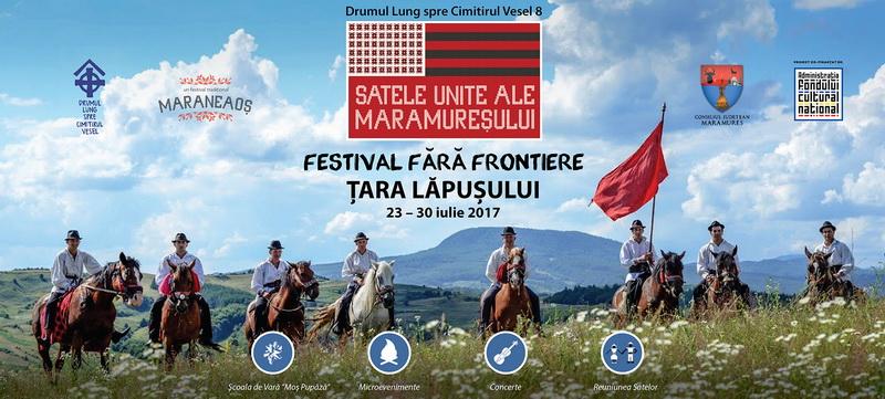 """Duminica, 23 iulie 2017, """"Drumul Lung spre Cimitirul Vesel"""" porneste din Targu Lapus!"""