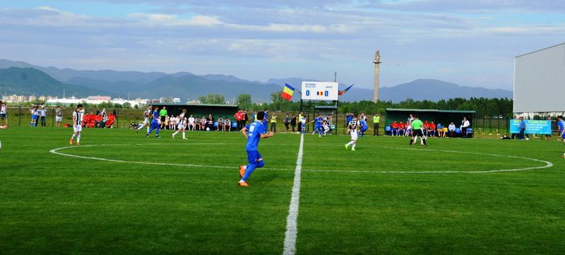 A fost inaugurat Stadionul Central al ACS Recea