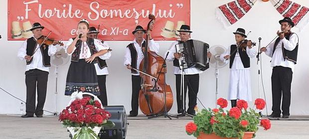"""Festivalului  folcloric-concurs interjudețean pentru copii """"FLORILE SOMEŞULUI"""", MIREŞU MARE, EDITIA a XII- a"""