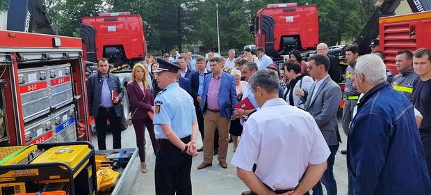 Prefectul Moldovan a participat la cursul de pregătire pentru managementul situațiilor de urgență