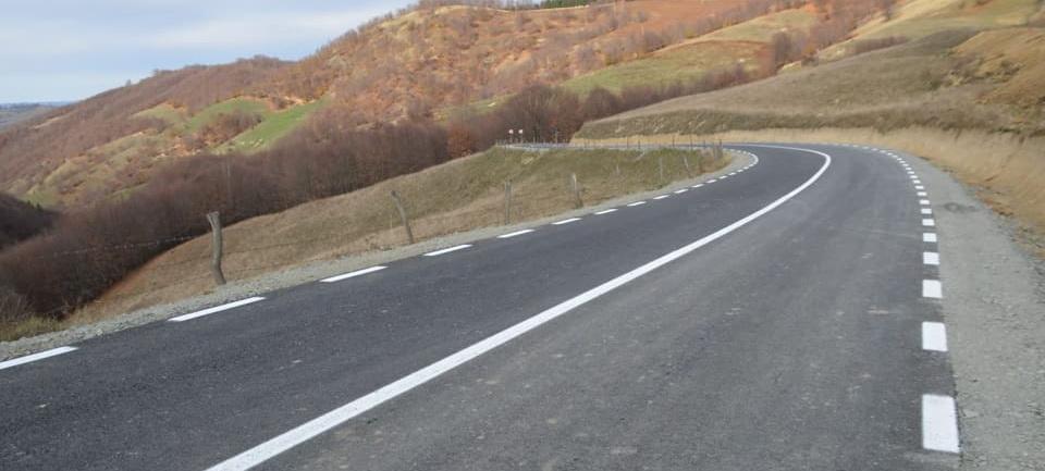 """CJ Maramureș și CJ Bistrița-Năsăud au inaugurat """"Drumul Unirii"""", la limita dintre cele două județe"""