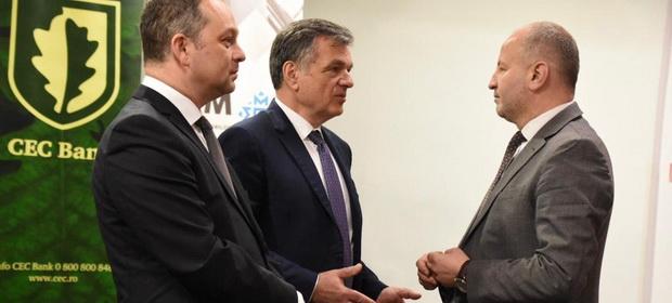 CEC Bank se alătură autorităților locale în acțiunile de susținere a AAPL-urilor și IMM-urilor din județul Maramureș