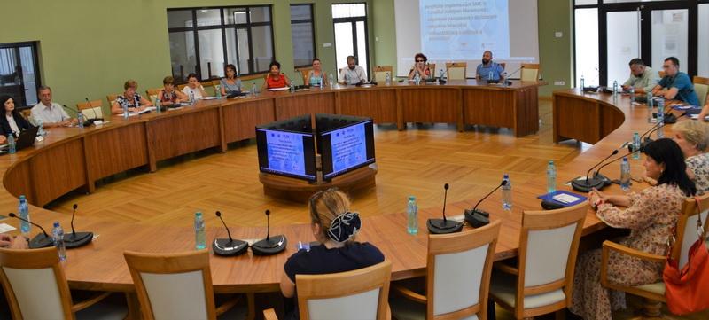 Certificare a Sistemului de Management al Calității din Consiliul Județean Maramureș
