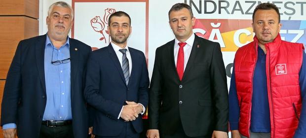 Vasile Țipea, primarul orașului Dragomirești susține principiile social-democrate și votează PSD în 26 mai!