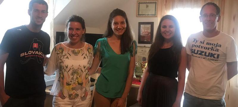 Delegație de tineret a rutenilor din Slovacia la Bistra