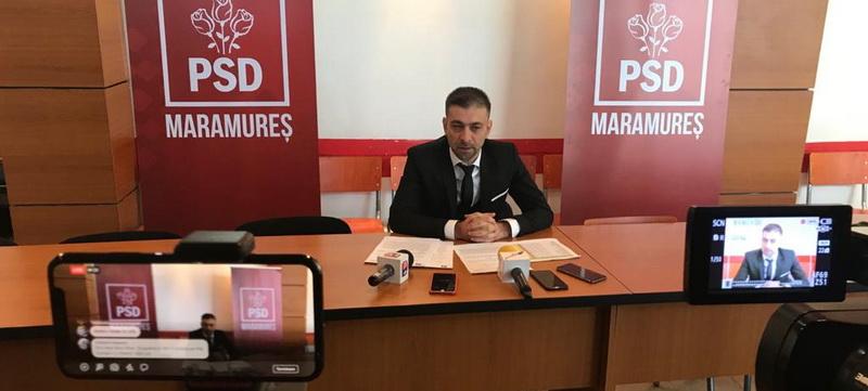 Președintele PSD Maramureș, Gabriel Zetea, contracarează atacurile telefonice denigratoare pornite de o firmă din Cluj-Napoca
