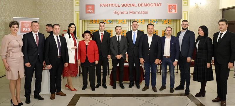Sorin Vlașin a fost reconfirmat președinte al PSD Sighetu Marmației