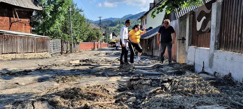 """Gabriel Zetea: """"Cer imperativ Guvernului României să îi despăgubească pe cetățenii din Săliștea de Sus care au fost afectați de inundații!"""""""