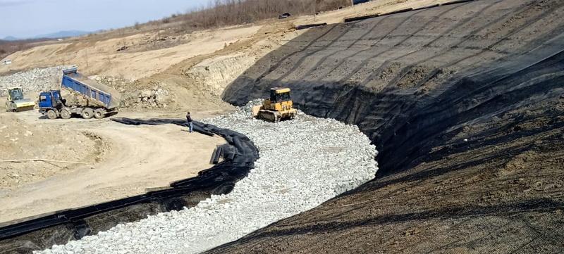 Lucrări de stabilitate și punere în siguranță a investițiilor la Depozitul Ecologic din Sârbi