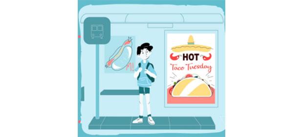 Copiii sunt ţinta reclamelor pentru alimente nesănătoase!