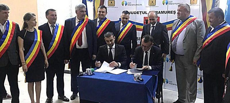 Contractul de finanțare pentru DJ 186 Valea Izei a fost obținut în mandatul lui Gabriel Zetea