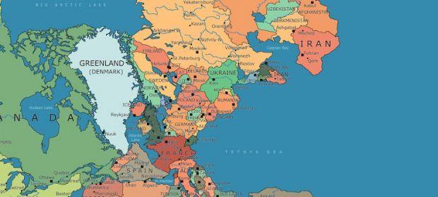 Cu cine s-ar fi învecinat România